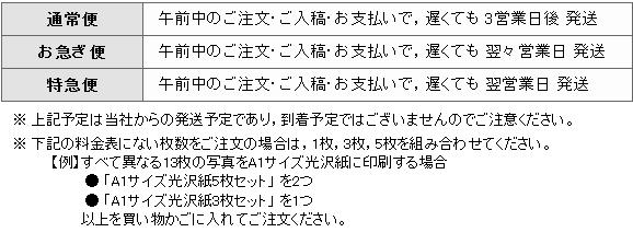A1ポスター_商品発送予定